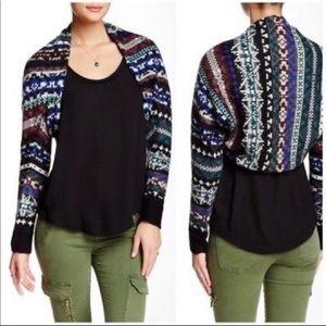 Free people Sweater shrug